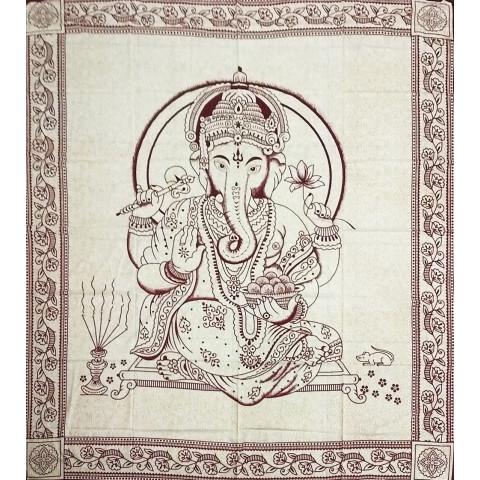 JMD806-27 -Manta Indiana Ganesh Vinho