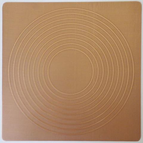 EG9905 - Gráfico Radiônico de Cobre (Nove Círculos)