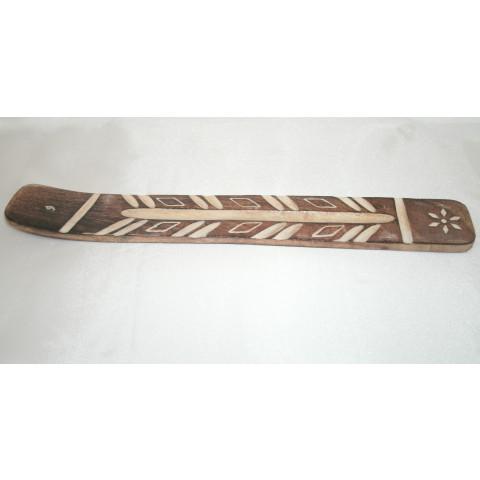 3311 - Incensário Madeira Indiano