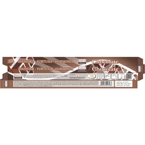 3710 - Incenso Indiano Darshan Chocolate