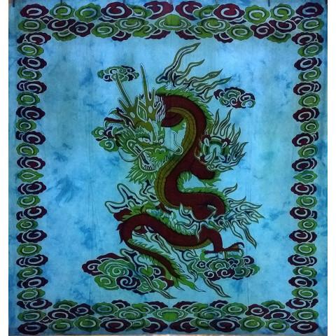 JMD806-03 - Toalha Indiana Dragão Azul