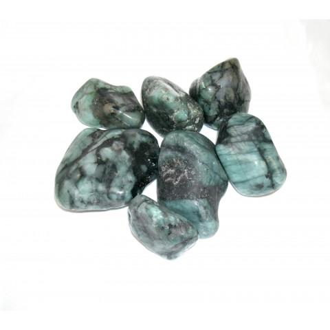 4111 - Pedra Rolada Esmeralda - 100g.