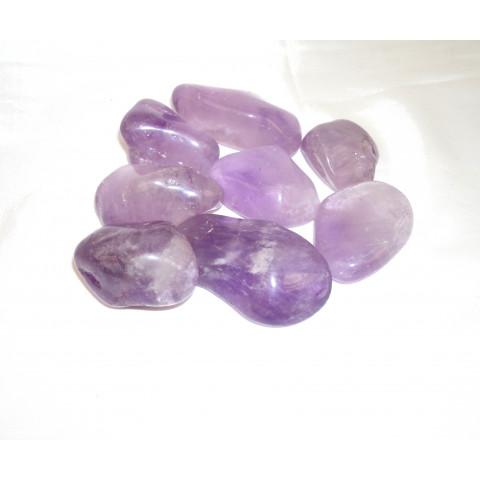 4350 - Pedra Rolada Ametista - 100g.