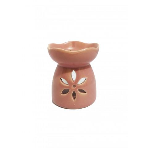 BC78130026ROS - Rechô Cerâmica Floral Rosa