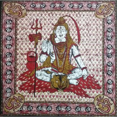 JMD806-63 - Manta Indiana Shiva Vermelho