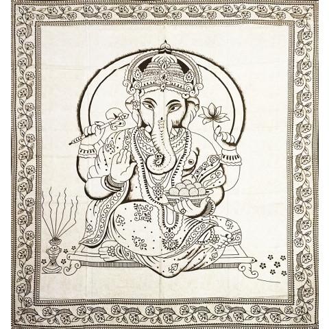 JMD806-66 - Manta Indiana Ganesh Marrom