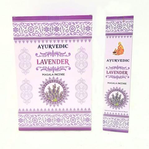 0880- Incenso Massala Ayurvedic Lavender