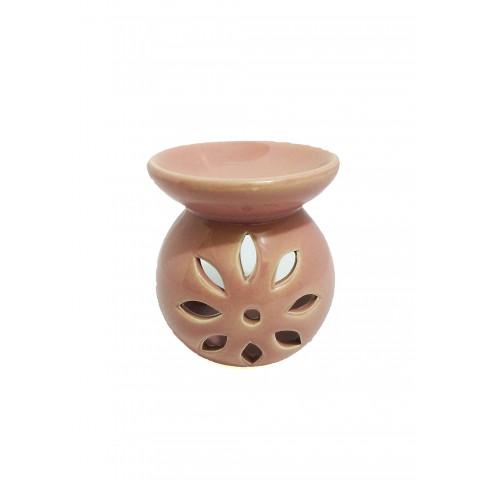 BC7813027ROS - Rechô Cerâmica Floral Bojudo Rosa