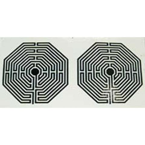 AD032 - Adesivo Labirinto (P) c/ 2