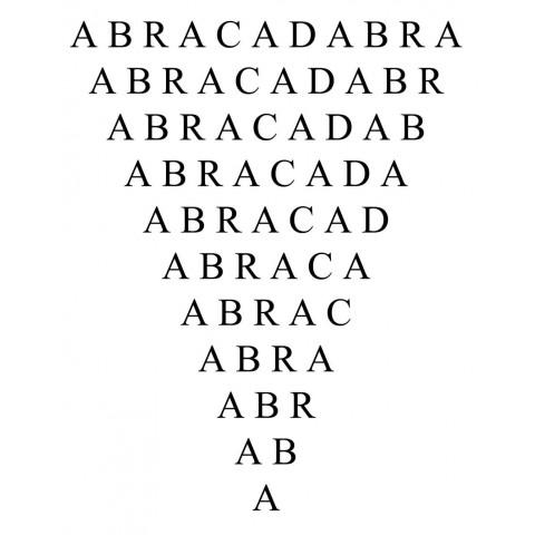 AD037 - Adesivo Abracadabra