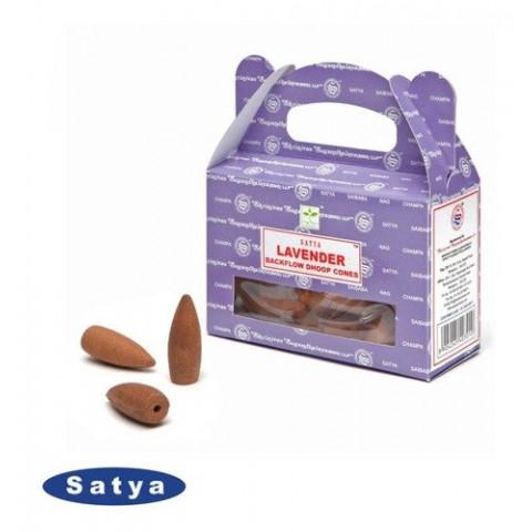 61622 - Incenso Satya Cone Cascata - Lavender