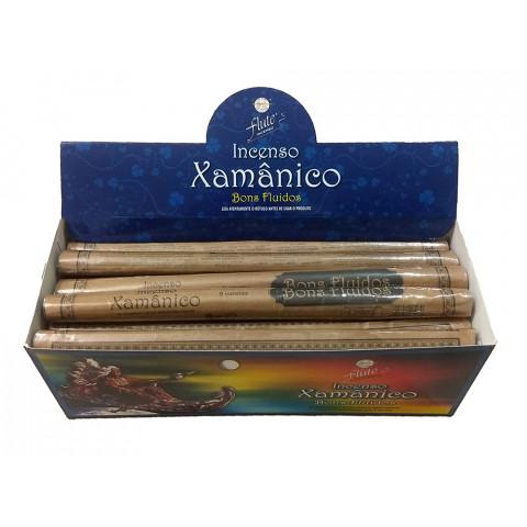 XA0109 - Incenso Flute  Xamanico - Bons Fluidos