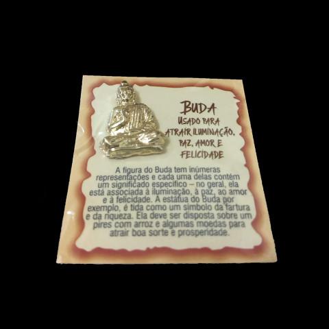 ME3020-03 -  Talismã Buda - Atraí iluminação, paz, amor e felicidade