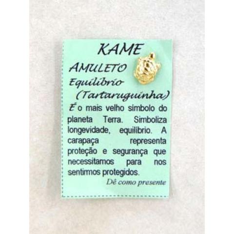 CA91002 - Talismã Kame Dourado