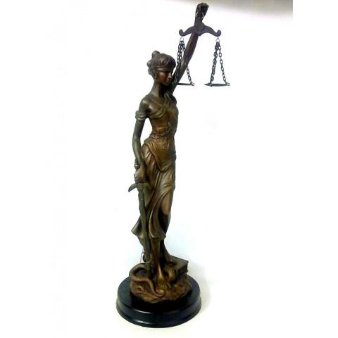 CPA041039110 - Dama da Justiça Bronzeado (02-00017)