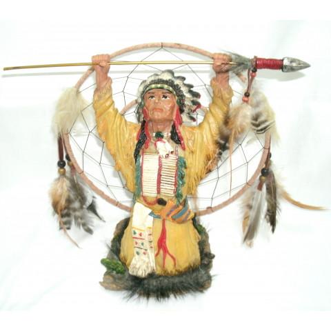 CPA500119293 - Estatueta Índio c/ Catasonhos