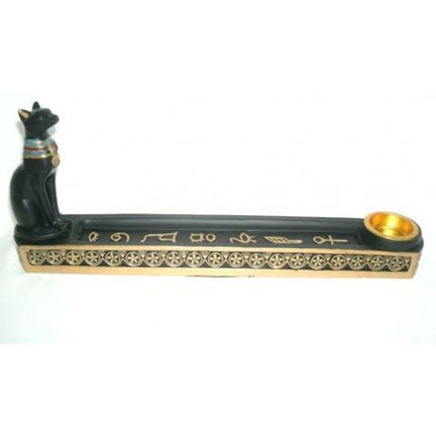 CPA610040924 - Incensário Canoa Gato Bastet (EG011-1)