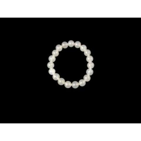 CPNA08059493 - Pulseira T8 Mista Agata Branca