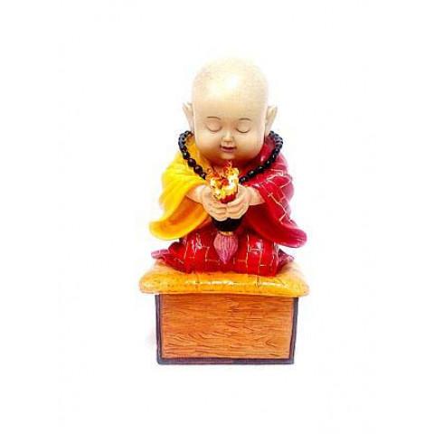 CPNA98019370 - Incensário Monge Colorido