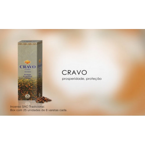 0262 - Incenso SAC Cravo