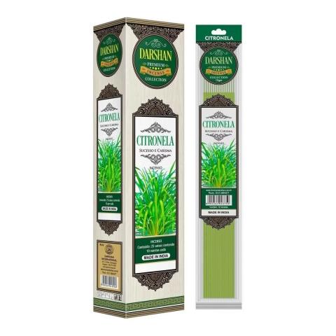 4148 -  Incenso Darshan Premium Citronela