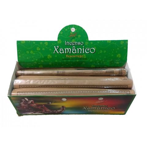 XA0110 - Incenso Flute  Xamanico - Descarrego