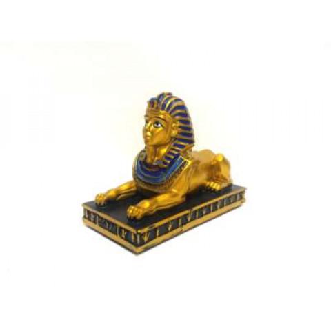 CPA011219101- Esfinge Dourada 12cm