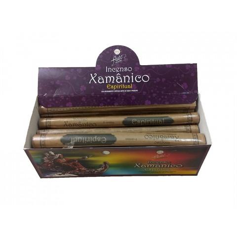 XA0104 - Incenso Flute  Xamânico - Espiritual