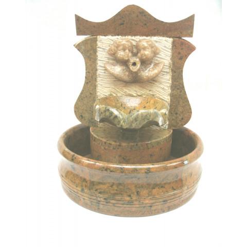 FA001-05 - Fonte de Pedra Sabão Colonial Anjo