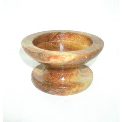 FA005-01 - Castiçal Vela 7 Dias Pedra Sabão