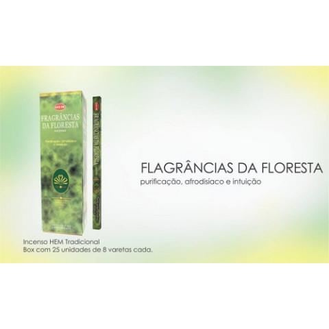 1235 - Incenso Hem Fragrâncias Da Floresta