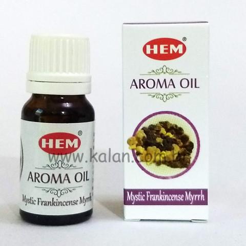 1420-10 - Hem Aroma Oil - Mystic Frankincense Myrrh 10ml