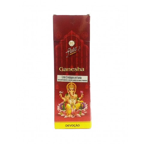 1667 - Incenso Indiano Flute Ganesha