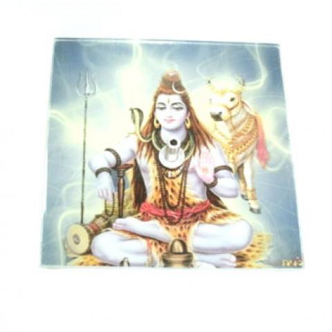 GM-C18 - Incensário Quadrado Shiva