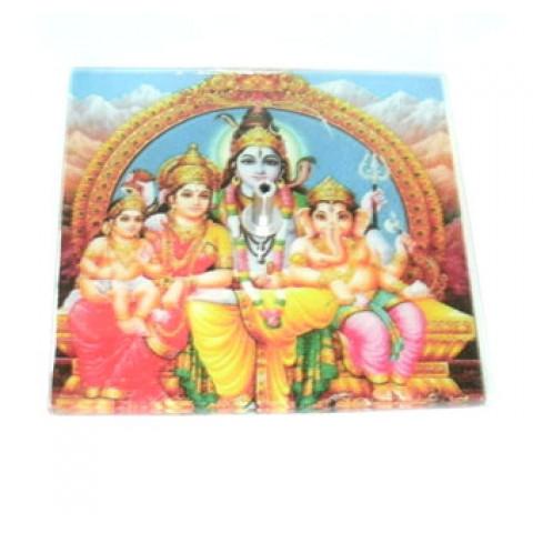 GM-C21 - Incensário Quadrado Família Ganesh