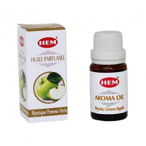 1420-44 - Hem Aroma Oil - Mystic Green Apple (Maçã Verde) 10ml
