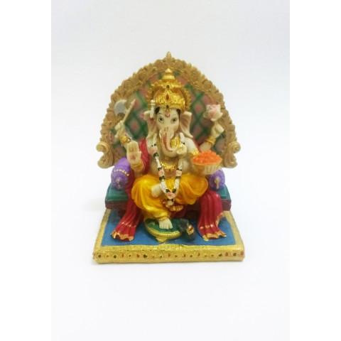 CPB040439370 - Escultura Ganesh Colorida (80-88)