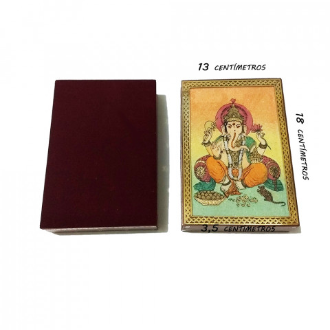 JMD810-1 Porta Joias Decorado - Lord Ganesh I (G)