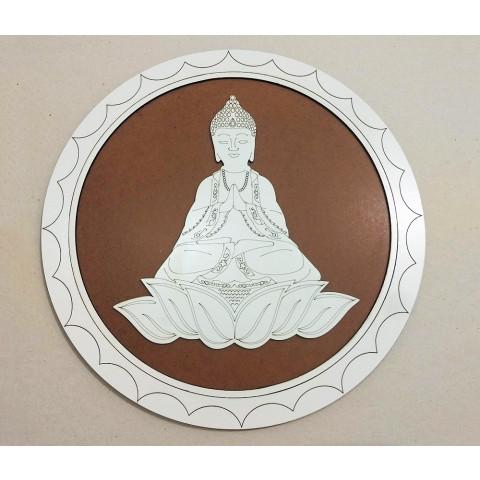 ME5911-5 - Mandala Madeira Budha (GG)