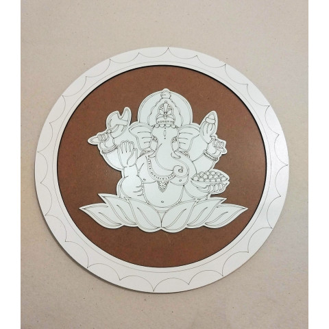 ME5910-6 - Mandala Madeira Ganesh G
