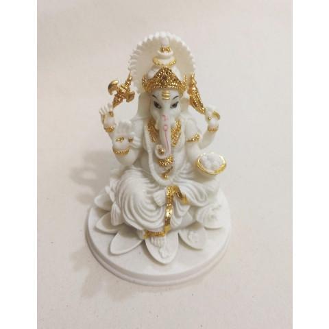 CPB040504607 - Ganesh 2018-42A Branco/Dourado