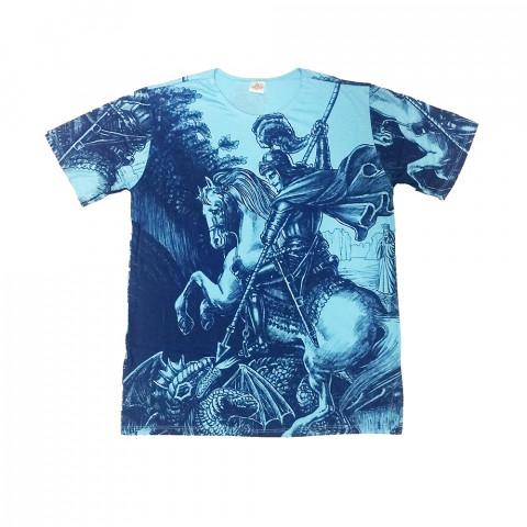 JA035 - Camiseta Azul (São Jorge)