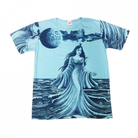 JA015 - Camiseta Azul (Iemanjá)