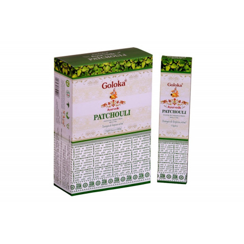 0155 - Incenso Massala Goloka Patchouli