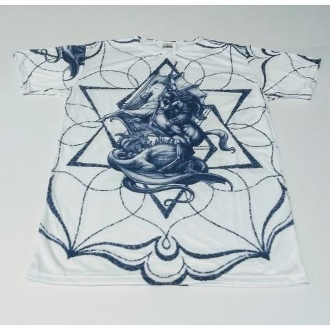 JA064  - Camiseta Branca (São Jorge)