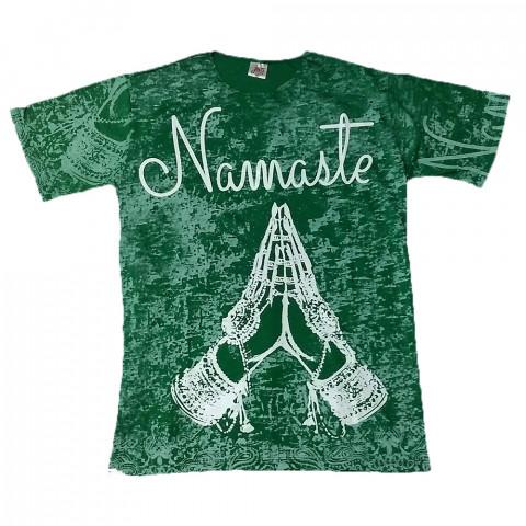JA078 - Camiseta Verde (Namaste)