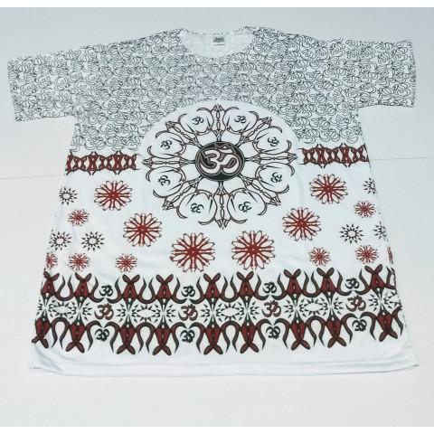 JA087 - Camiseta Branca (Símbolos OM)
