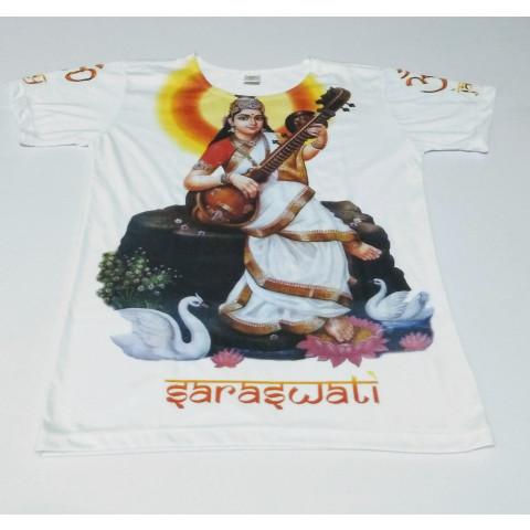 JA088 - Camiseta Branca (Saraswati)
