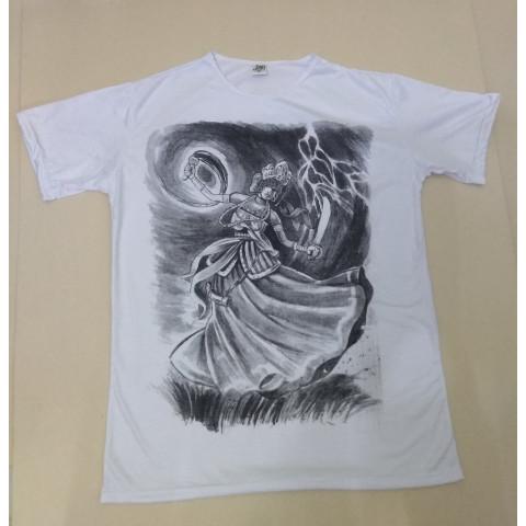 JA110 - Camiseta Branca (Yansã)