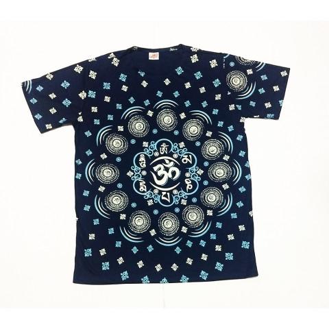 JA132- Camiseta Azul (Símbolos de OM)